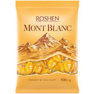 Roshen, Mont Blanc, 500 г, Конфеты с шоколадом и сезамом