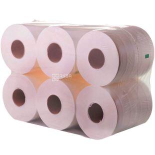 Mirus, Jumbo, 12 рул., Мирус, Туалетний папір Джамбо сірий, одношарова, 150 м