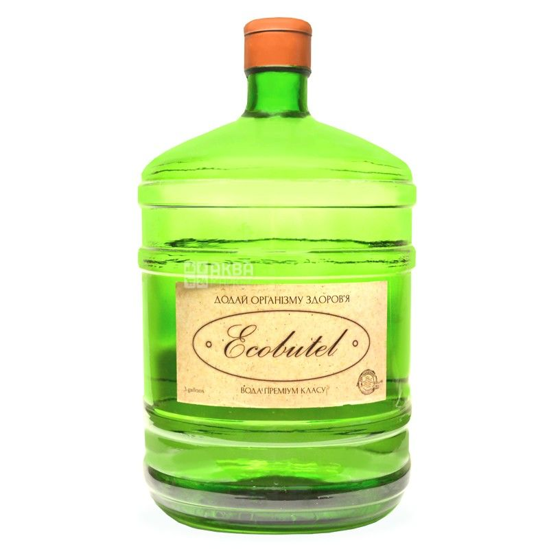 Ecobutel Вода карпатская,11,3 л, Стекло
