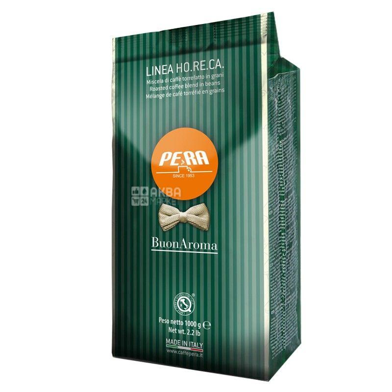 Pera Buon Aroma, 1 кг, Кофе Пера Бон Арома, средней обжарки, в зернах