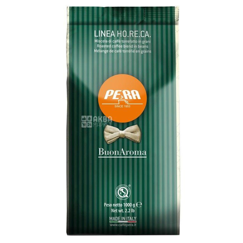 Pera Buon Aroma, 1 кг, Кава Пера Бон Арома, середнього обсмаження, в зернах