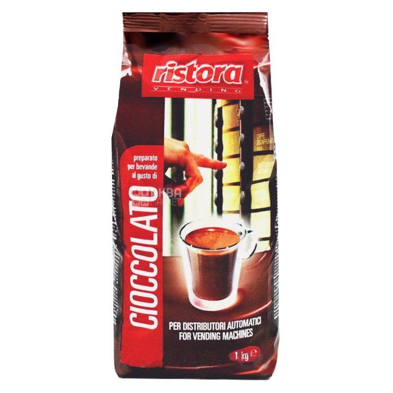 Ristora, Cioccolato, 1 кг, Ристора, Горячий шоколад, растворимый