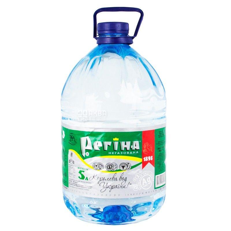 Регина, 5 л, Вода негазированна, ПЭТ