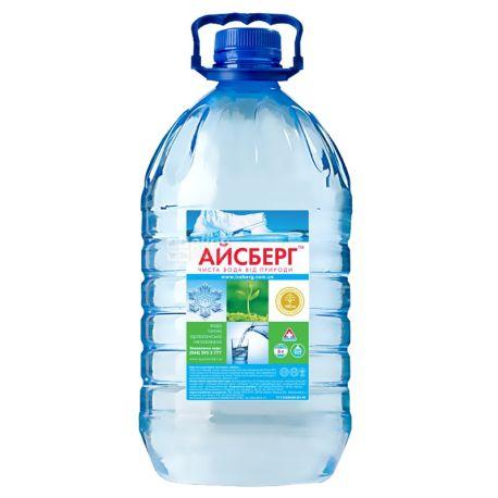 Айсберг, 6 л, Вода негазированная артезианская, ПЭТ