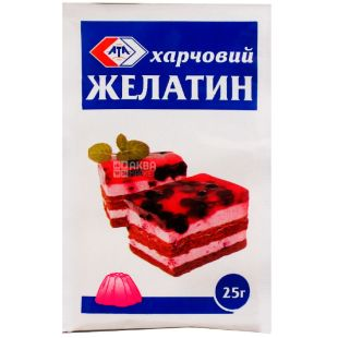 АТА, 25 г, Желатин пищевой