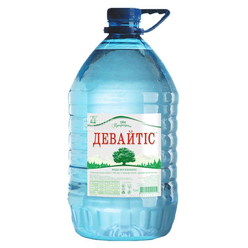 Non-carbonated water 5 l, TM Devaytis, PET container, PAT