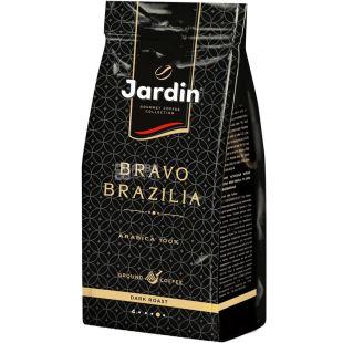 Jardin Bravo Brazilia, 250 г, Кофе Жардин Браво Бразилия, темная обжарка, в зернах