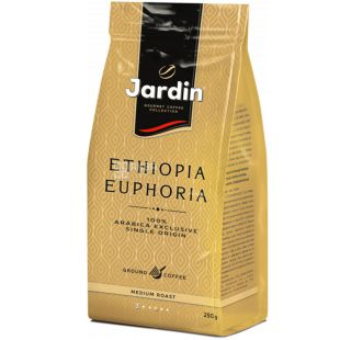 Jardin Ethiopia Euphoria, 250 г, Кофе Жардин Эфиопия Эйфория, средняя обжарка, молотый