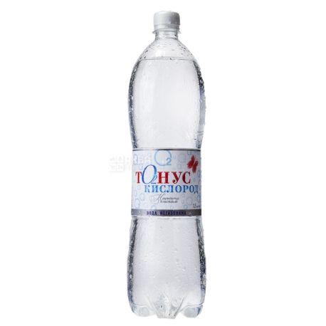 Куяльник Тонус-Кислород, 1,5 л, Вода минеральная негазированная, ПЭТ