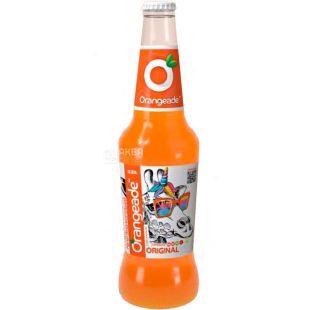 Orangeade Original, 0, 33 л, Напиток слабогазированный, апельсин