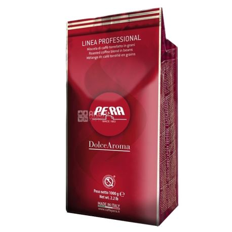 Pera Dolce Aroma, 1 кг, Кофе Пера Дольче Арома, средней обжарки, в зернах