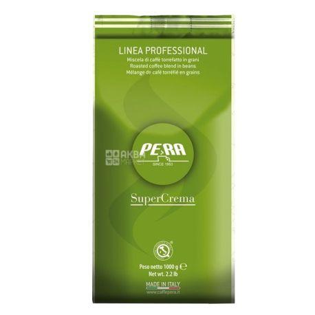 Pera Super Crema, 1 кг, Кофе Пера Супер Крема, средней обжарки, в зернах