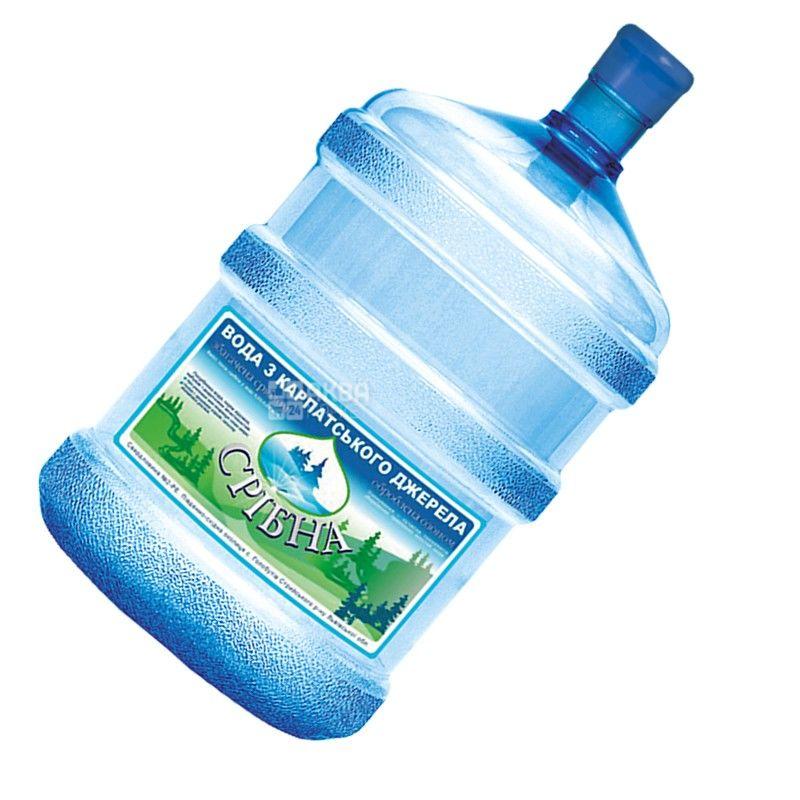 Вода 18,9 л, Срибна