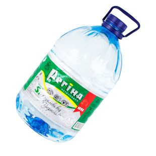 Регина, 5 л, Вода негазированная, Минеральная, ПЭТ