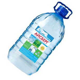 Айсберг Вода 6 литров, негазированная , ПЭТ