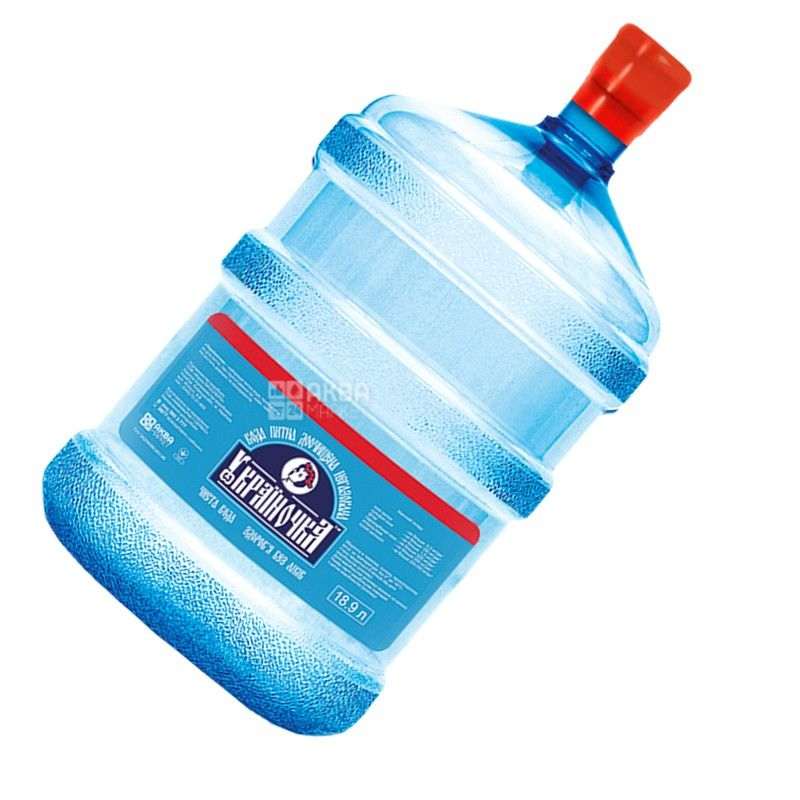 Украиночка Вода питьевая, 18,9 л