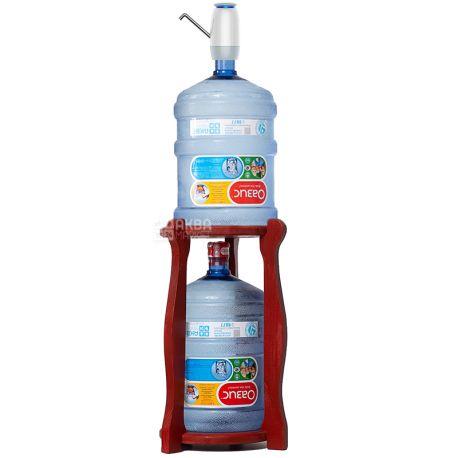 ViO, Подставка деревянная WSD-5, круглая, под 2 бутыли, Вишня