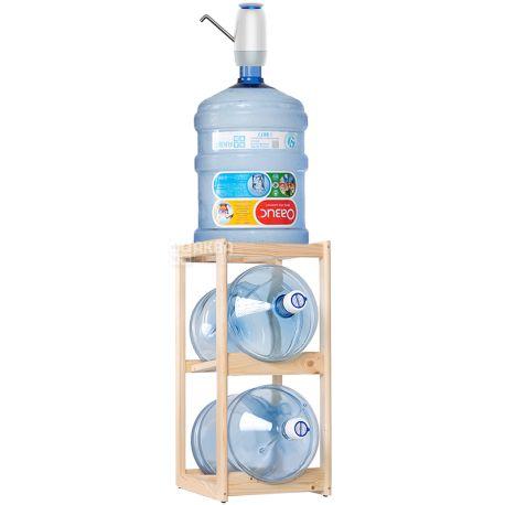 ViO, Подставка деревянная WS-2, под 2 бутыли, Бук