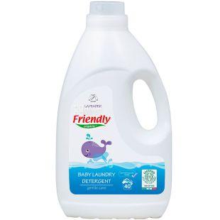 Friendly Organic, 2 л, Гель для прання, Лаванда, органічний