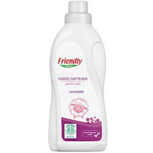 Friendly Organic, 0,75 л, Пом'якшувач для прання, Лаванда, органічний
