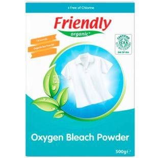 Friendly Organic, 500 г, Плямовивідник кисневий, органічний