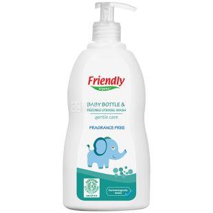 Friendly Organic, 300 мл, Миючий засіб для дитячого посуду, без запаху, органічний