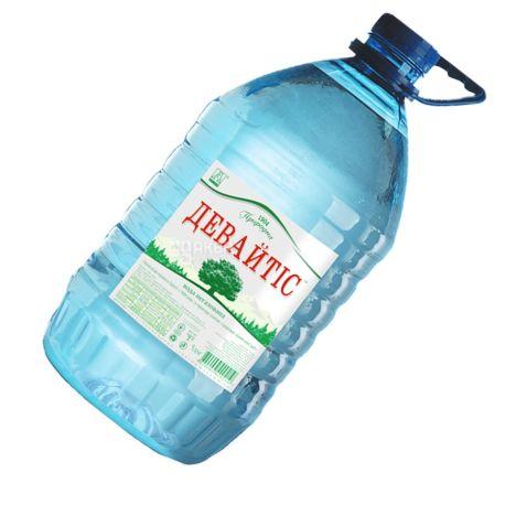 Девайтис, 5л, Вода минеральная негазированная, ПЭТ