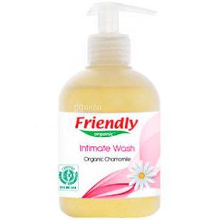 Friendly Organic, 300 мл, Гель для інтимної гігієни, органічний