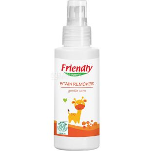 Friendly Organic, 100 ml, Stain and Odor Cleaner, Oxygen, Organic