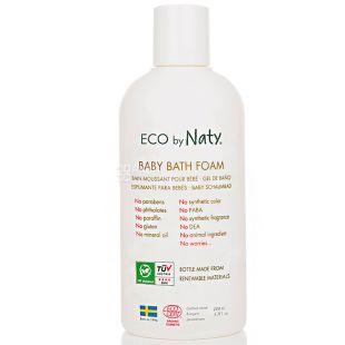 Eco by Naty, 200 мл, Піна для купання дитяча, органічна