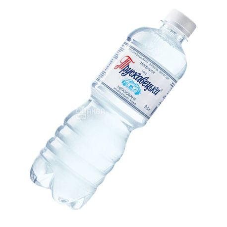 Трускавецька Нафтуся, Вода негазированная, 0,5 л, ПЭТ