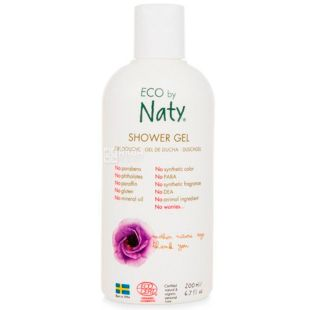 Eco by Naty, 200 ml,shower Gel for the whole family, organic