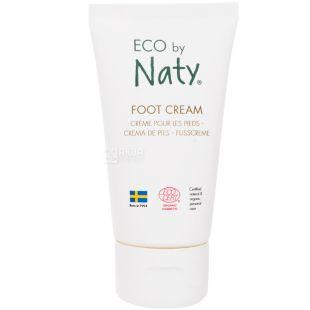 Eco by Naty, 50 мл, Крем для ніг, органічний