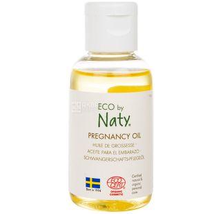 Eco by Naty, 50 мл, Масло від розтяжок для вагітних, органічне