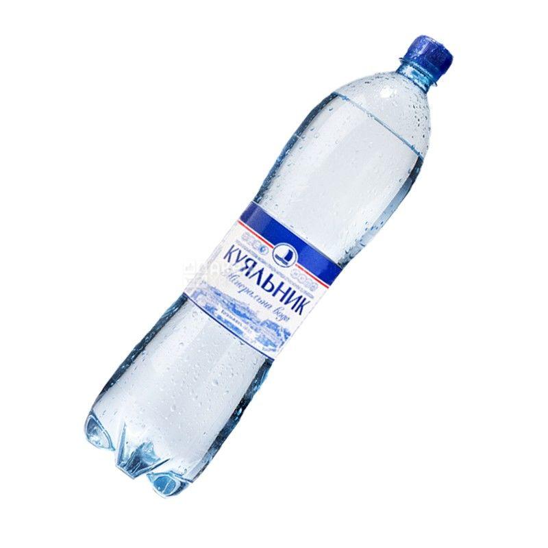 Куяльник, 1,5 л, Вода газированная, ПЭТ