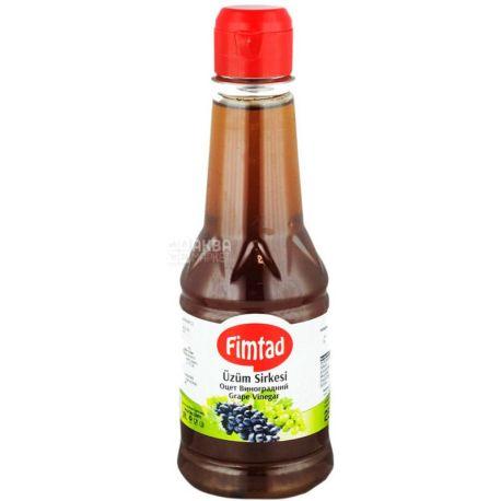 Fimtad, Виноградный уксус, 250 мл, пластиковая бутылка
