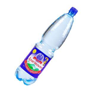 Драгівська, 1,5 л, Вода сильногазована, Мінеральна, ПЕТ