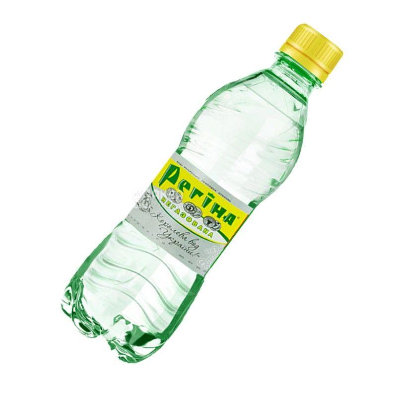 Регина, 0,33 л, Вода негазированная минеральная, ПЭТ