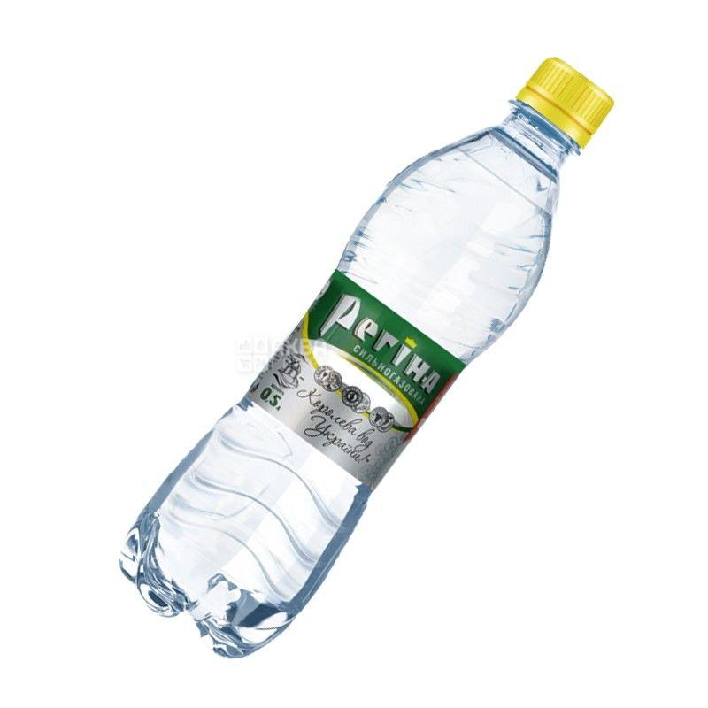 Регина, Вода сильногазированная минеральная, 0,5 л