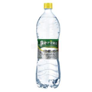 Регіна, 1,5 л, Вода сильногазована вода, Мінеральна, ПЕТ