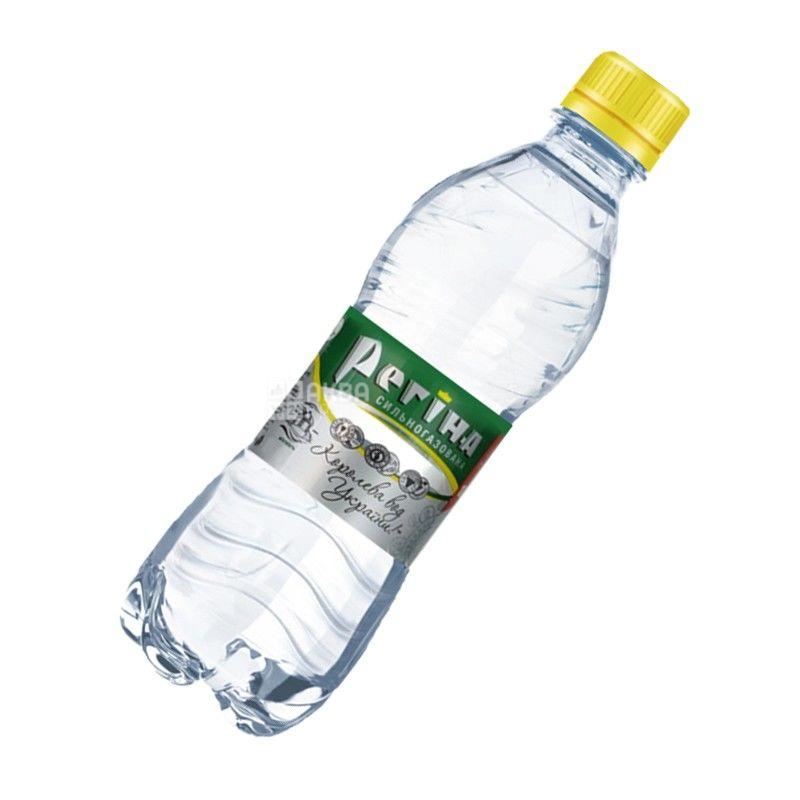Регіна, 0,33 л, Вода газована мінеральна, ПЕТ