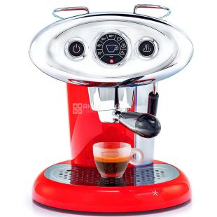 Illy, Francis Francis Iperespresso, X7.1, Coffee maker, capsule type, red