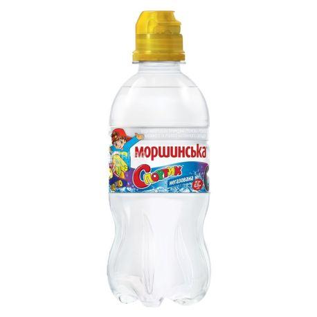 Моршинская, 0,33 л, Вода негазированная для детей Спортик, ПЭТ