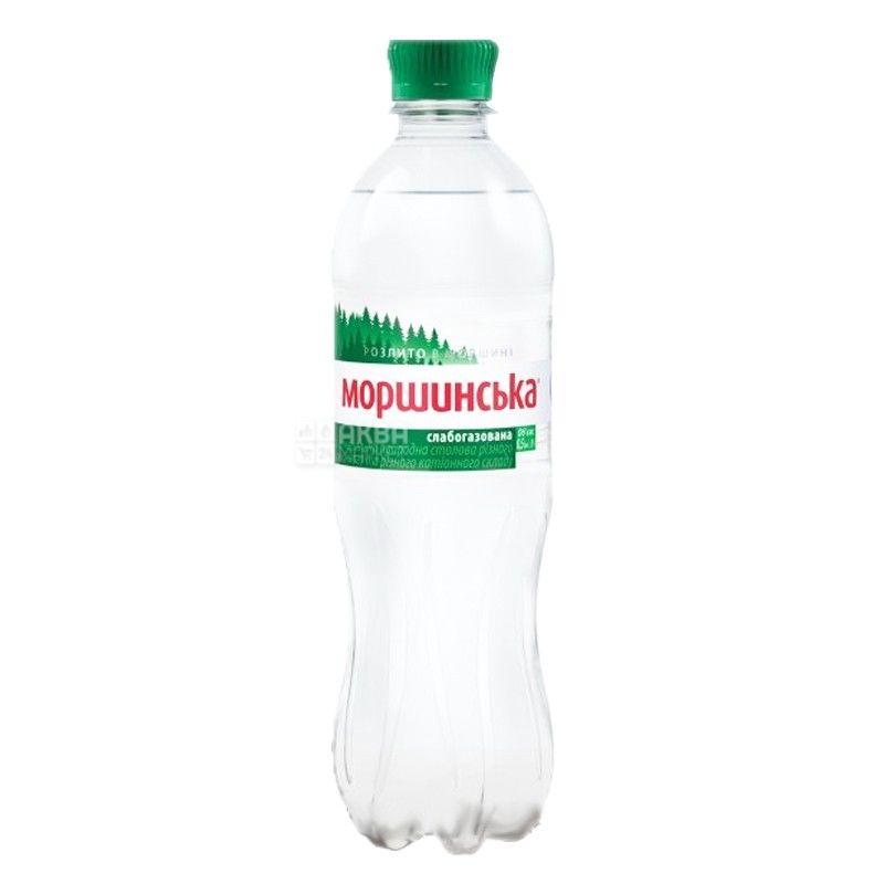 Моршинская, Вода минеральная слабогазированная, 0,5 л