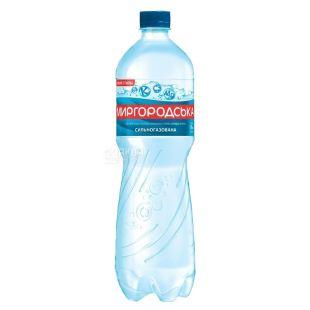 Миргородская, 1,5 л, Вода сильногазированная, Минеральная, ПЭТ