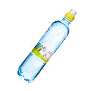 Akvulya 0.5 liters, non-carbonated water for children, PET, PAT