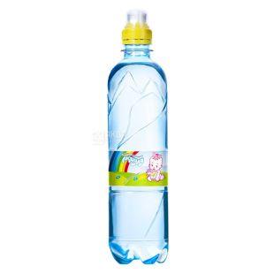 Аквуля 0,5 л, Вода негазированная Детская, ПЭТ
