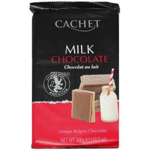 Cachet Milk, 300 г, Шоколад молочный