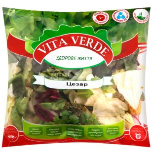Vita Verde, 180 г, Салат свежий, Цезар