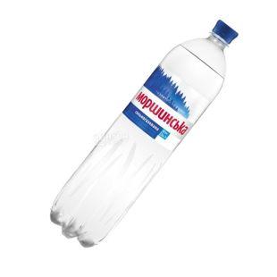 Моршинская, 1,5 л, сильногазированная вода, ПЭТ